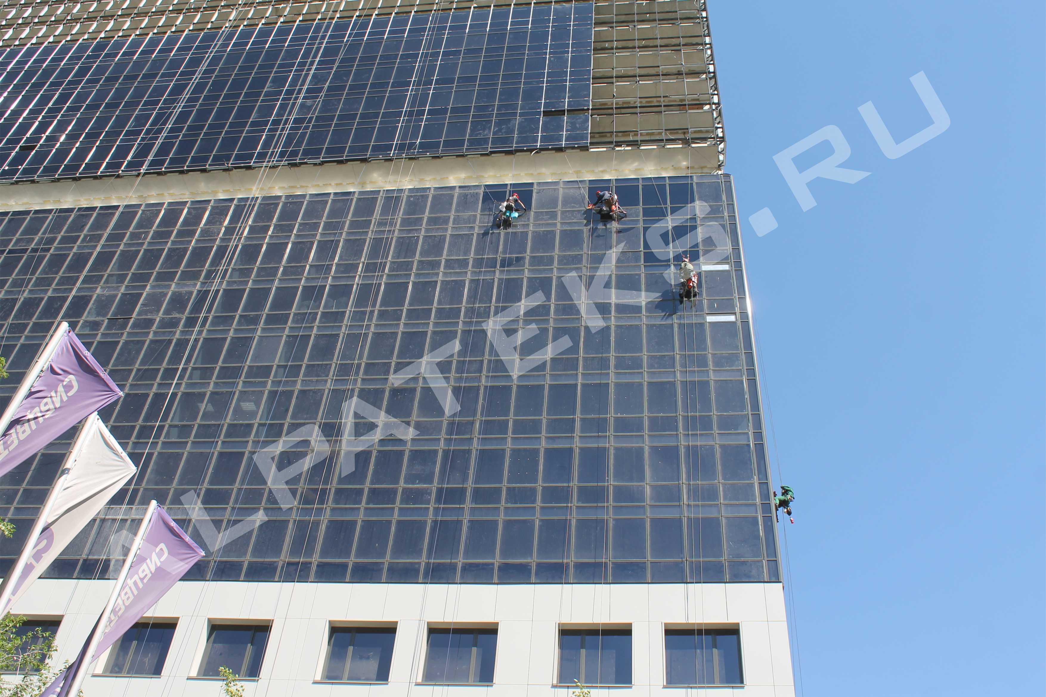 Средство для мытья фасадов зданий
